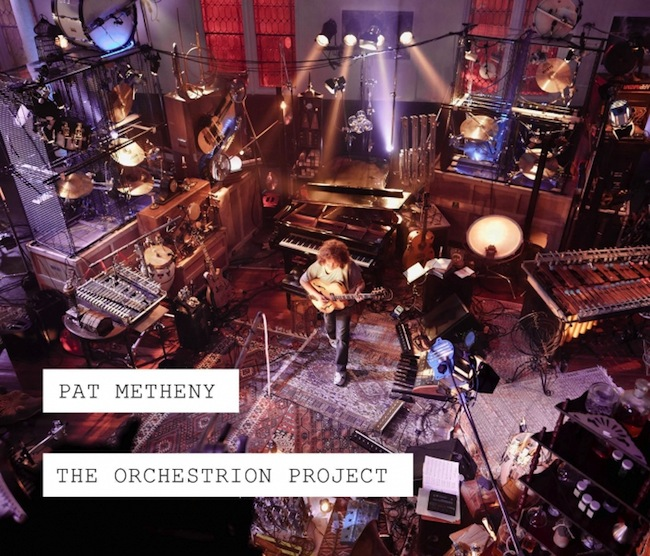 Pat Metheny The Orchestrion Project cover