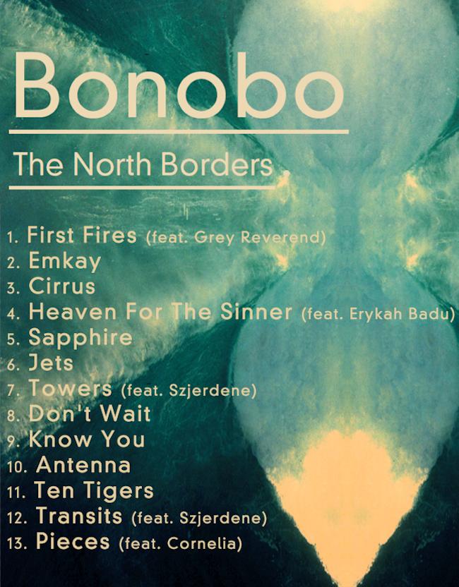 bonobo tracklista