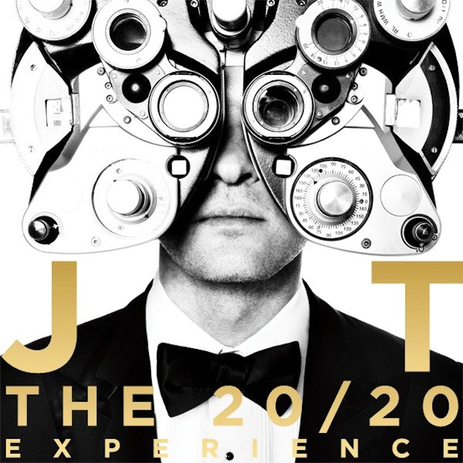 justin timberlake 20-20 experience cover