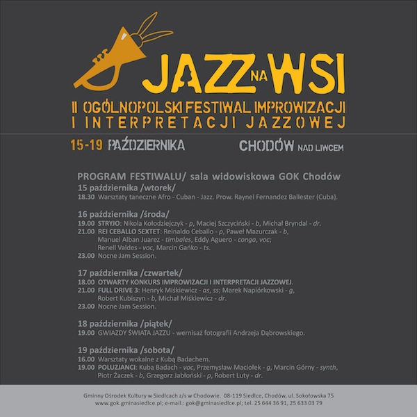 Jazz na wsi do kultury