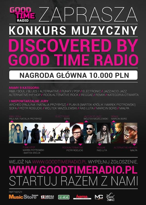 plakat_GOOD TIME RADIO