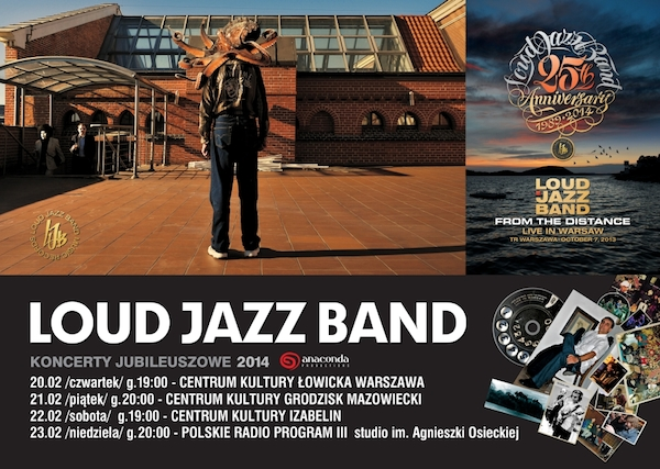Loud Jazz Band Live in Warsaw album trailer net