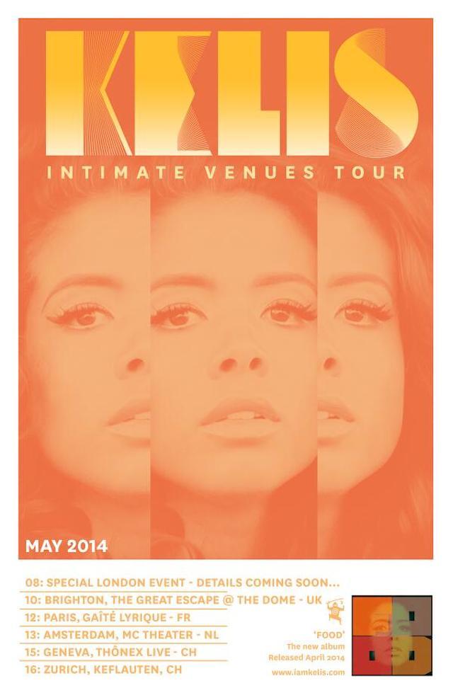 kelis-intimate-venues-tour-dates