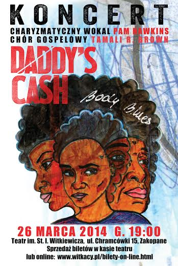 plakat daddy's cash zakopane