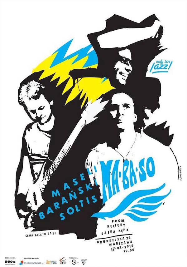 MaBaSo Saska plakat