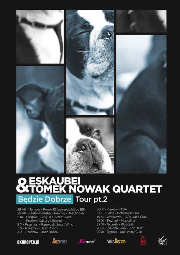 Eskaubei Tomek Nowak Quartet poster