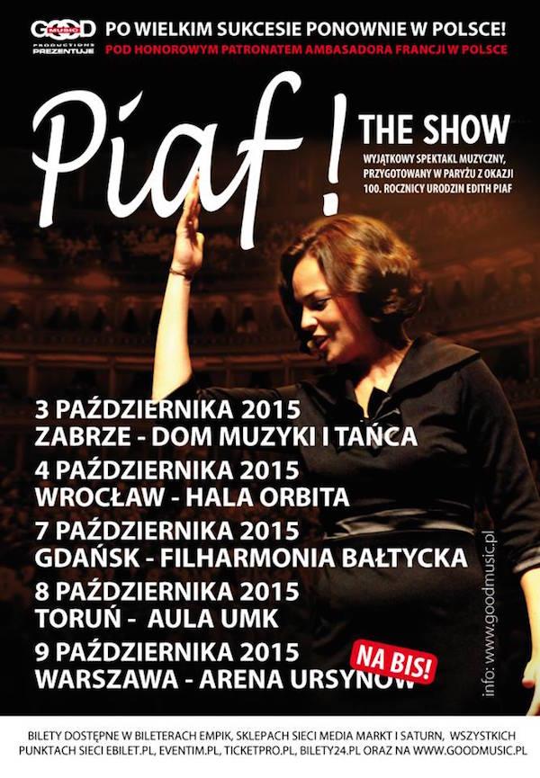 Piaf trasa
