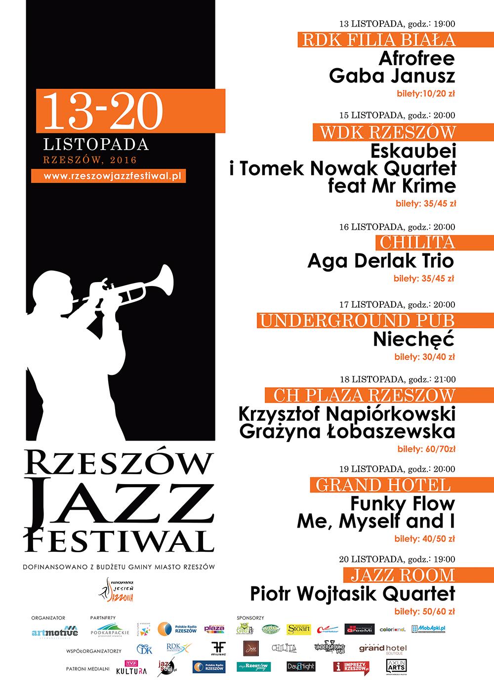 Rzeszów Jazz Festival 2016