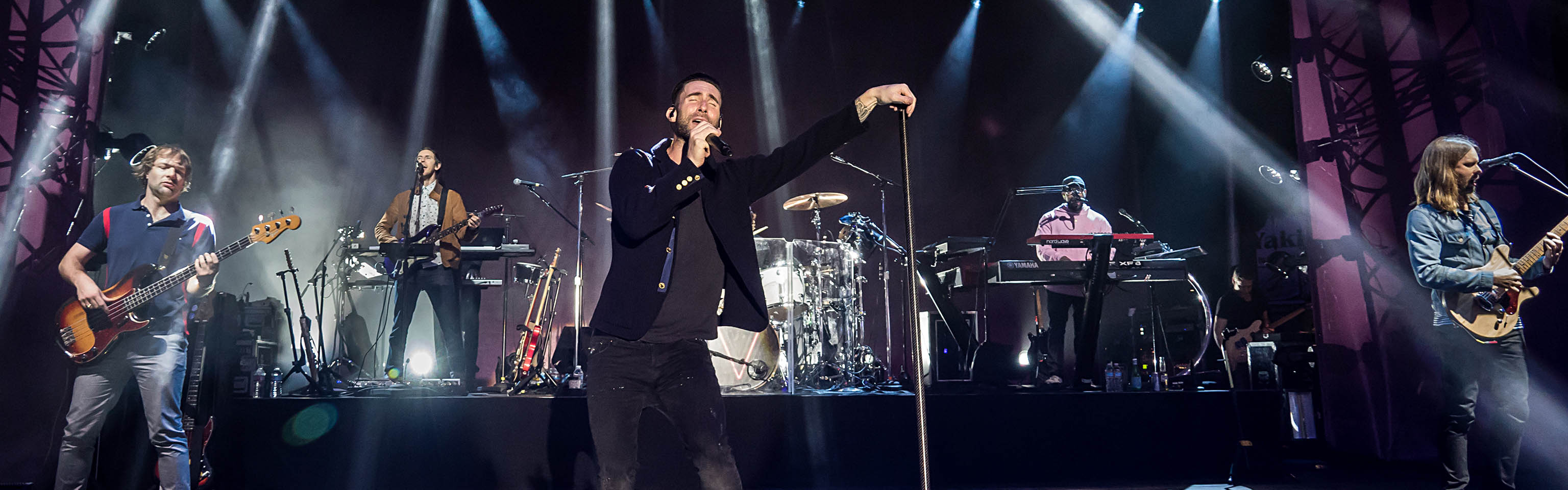 Maroon 5 at the Airbnb Open Spotlight