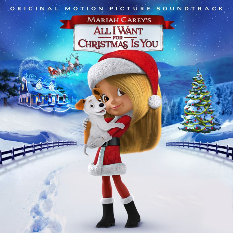 Mariah Carey All I Want For Christmas soundtrack small