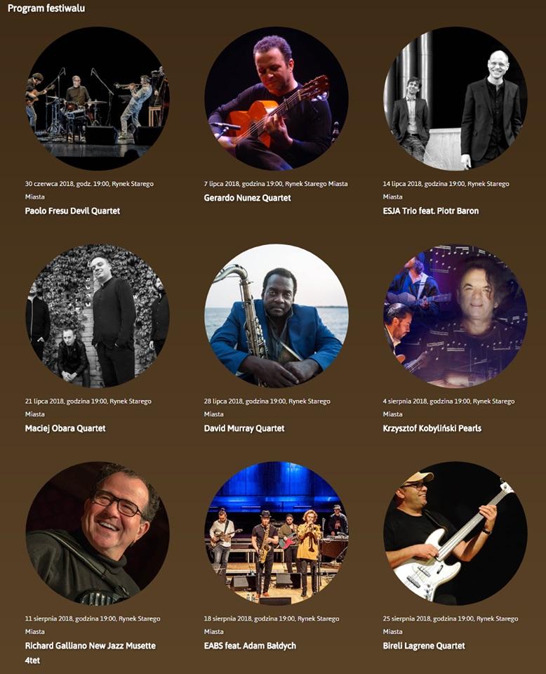 jazz na starowce 2018