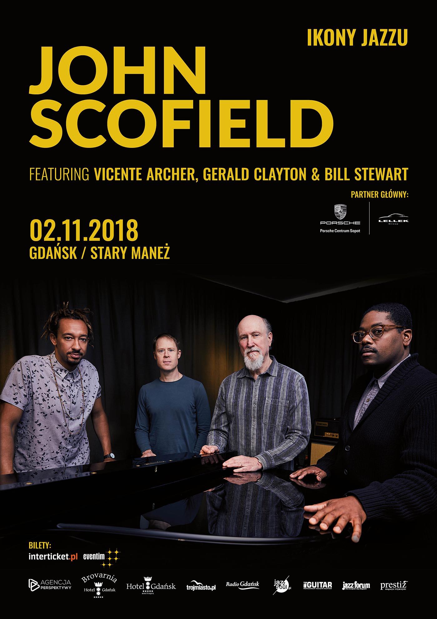 Ikony Jazzu - John Scofield - Poster