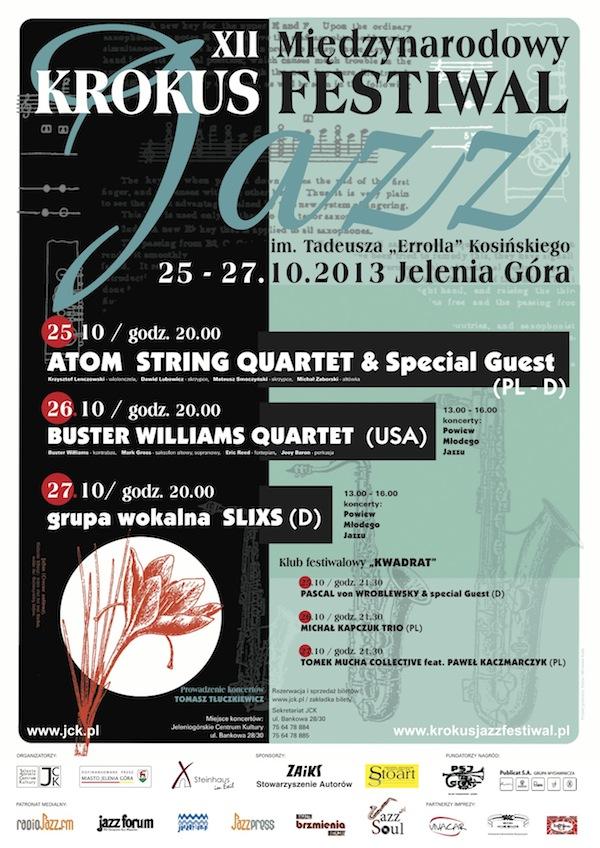 plakat A4 KROKUS 2014