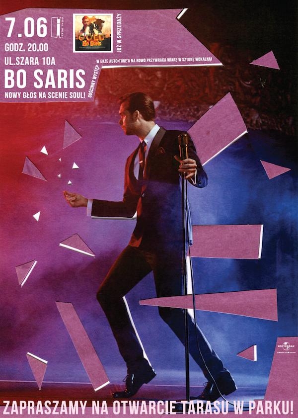 BO SARIS plakat