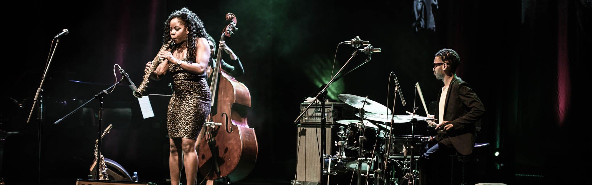 Tia Fuller Trio - JnO2017 - fot-Margielski