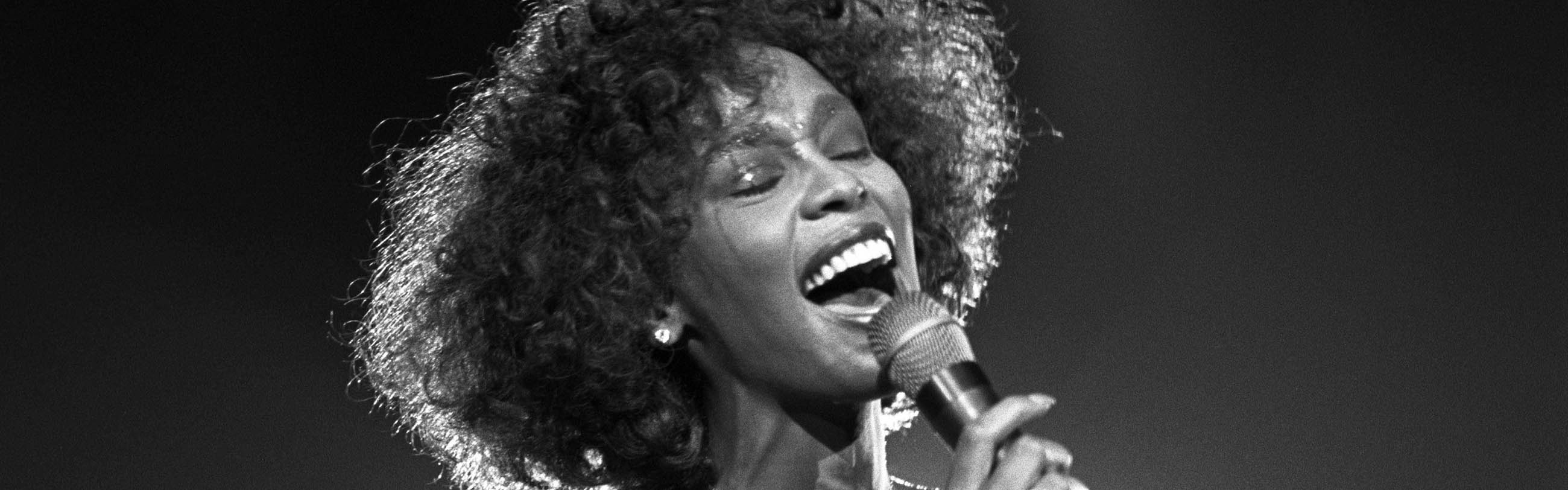 whitney houston fot David Corio