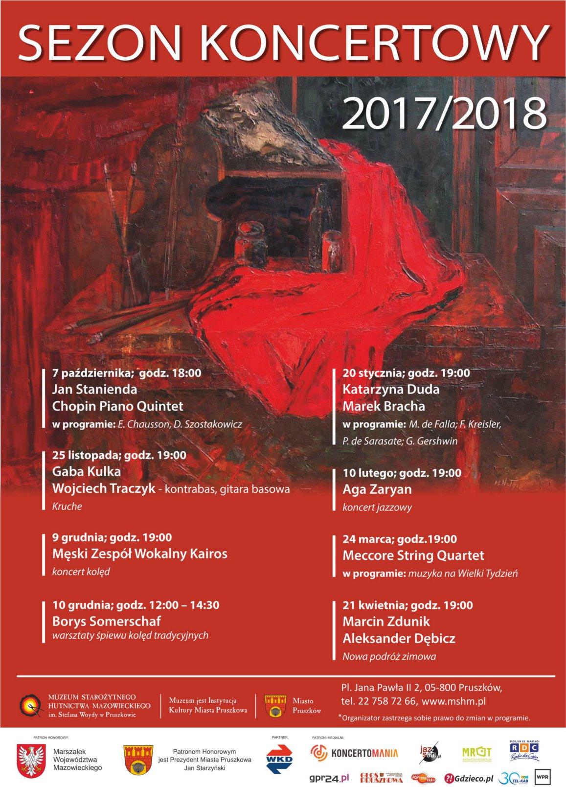 Sezon koncertowy 2017-2018