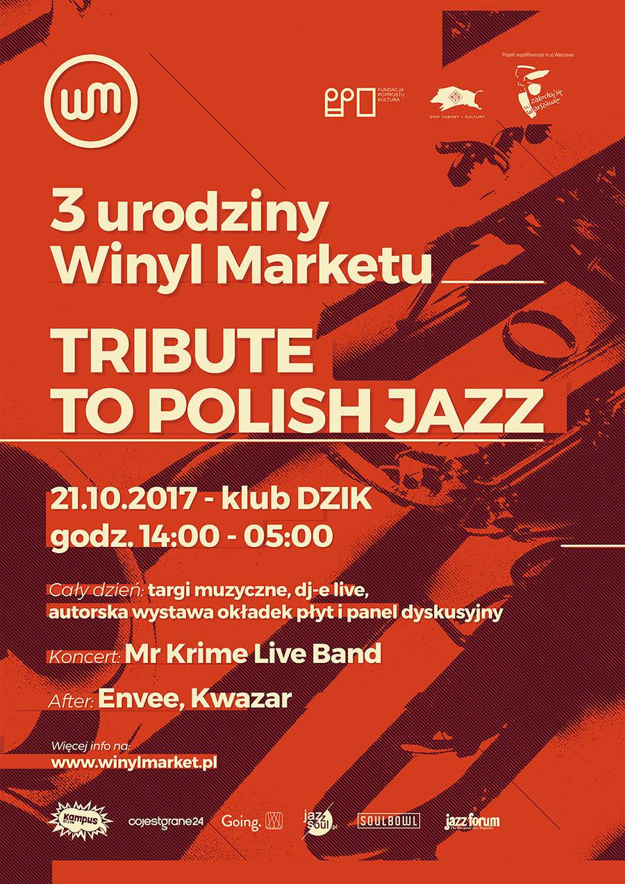 """3 Urodziny Winyl Marketu – """"Tribute to Polish Jazz"""""""