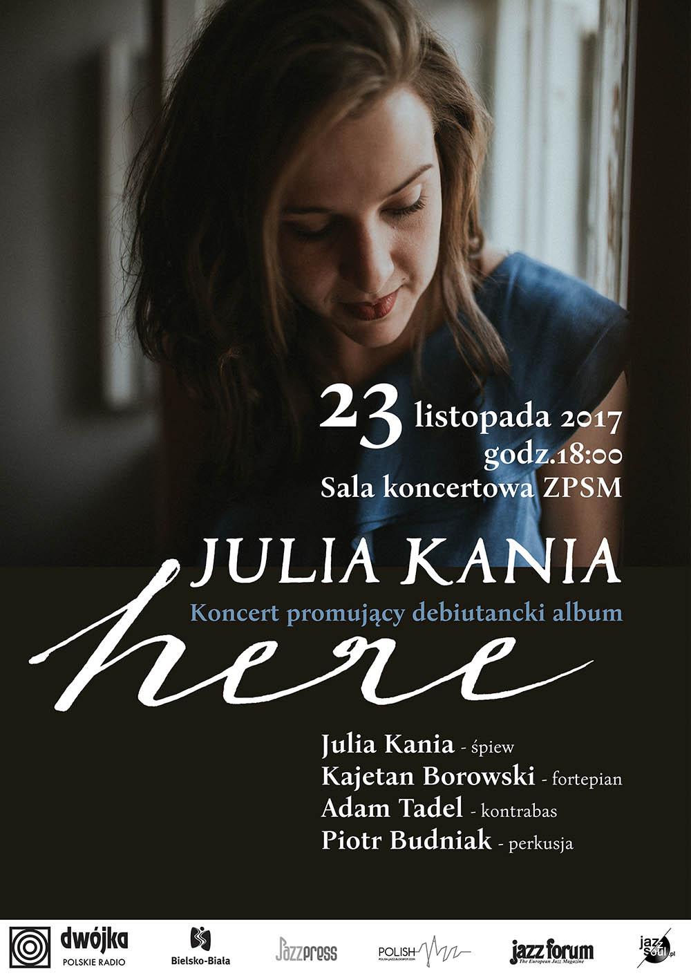 Julia Kania PLAKAT - Koncert Premierowy