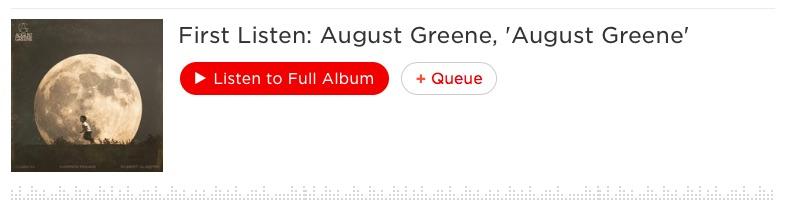 August Greene stream